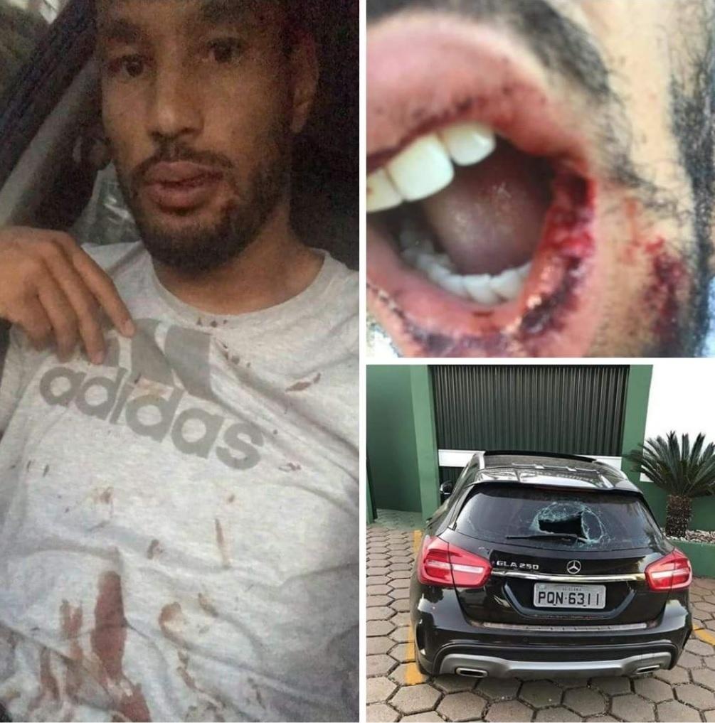 Bruno Aguiar foi agredido por torcedores do Goiás
