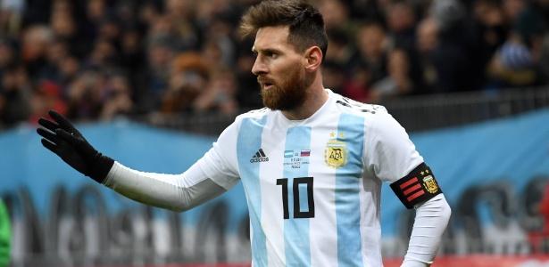 Messi é o artilheiro da Argentina, com 61 gols marcados
