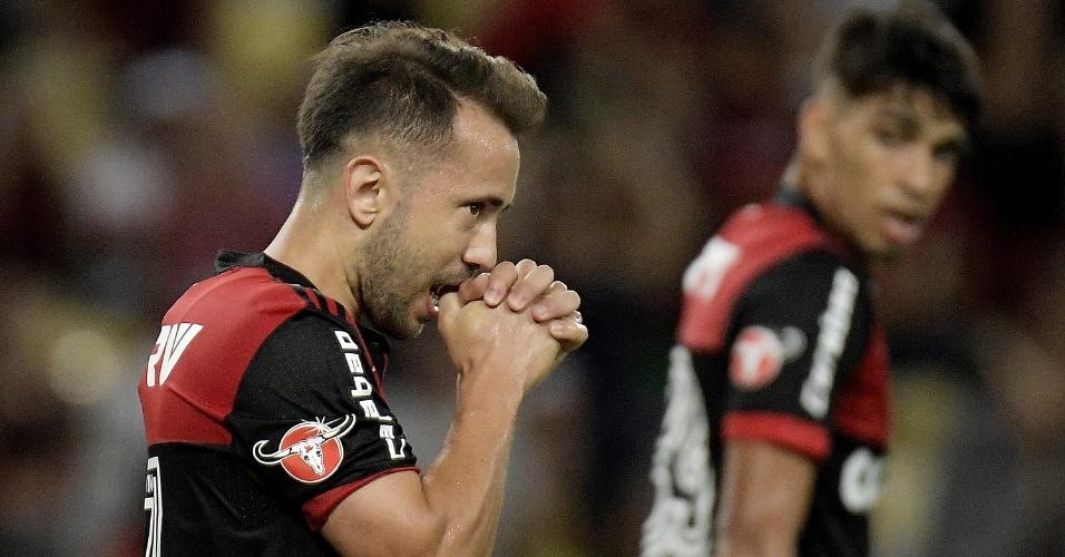 Everton Ribeiro, em Flamengo x Vasco