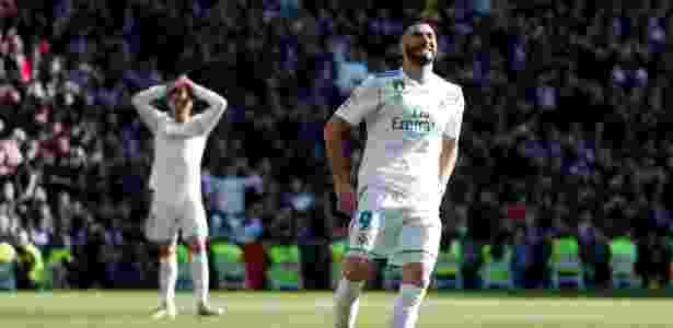 Benzema virou desfalque para Zinedine Zidane no início de 2018 - PAUL HANNA/REUTERS