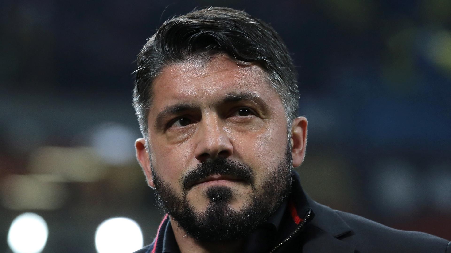 Gennaro Gattuso, técnico do Milan