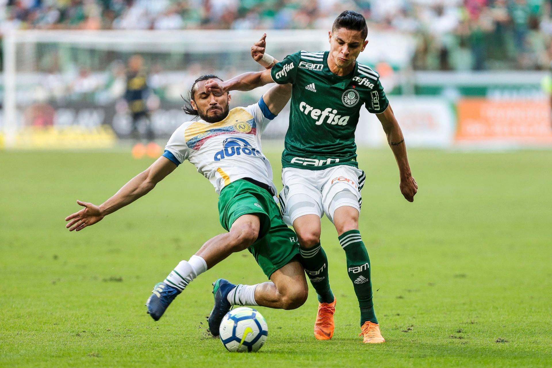 Palmeiras para na retranca e no goleiro da Chape e só empata no Allianz -  29 04 2018 - UOL Esporte be48d63f4316e
