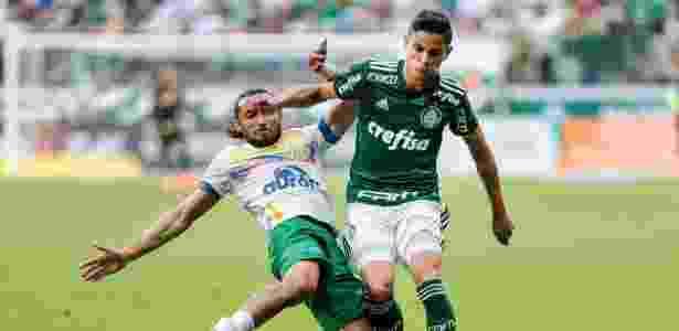 Diogo Barbosa tem sido titular da lateral esquerda com Felipão - Alê Cabral/Agif