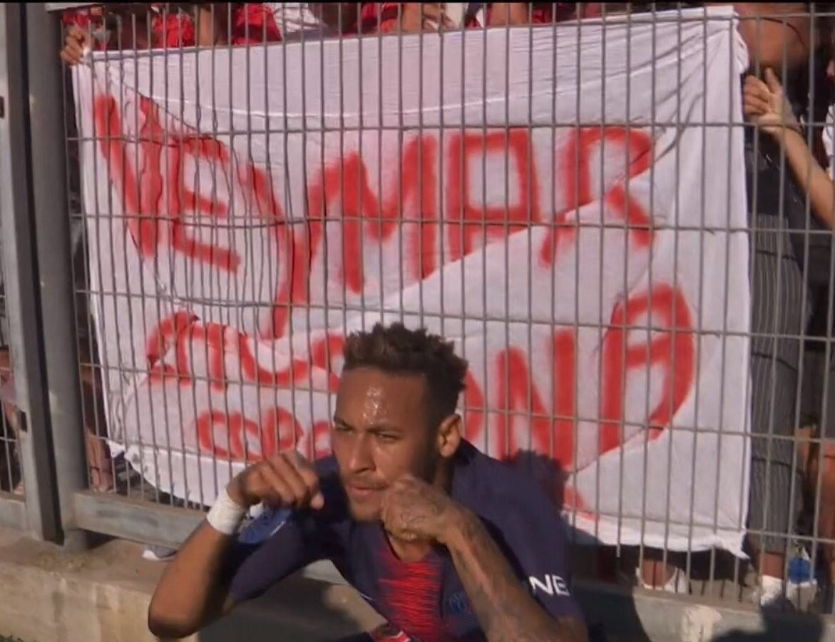 Neymar chororô PSG Francês