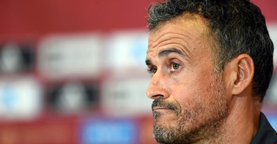 Luis Enrique, técnico da seleção da Espanha
