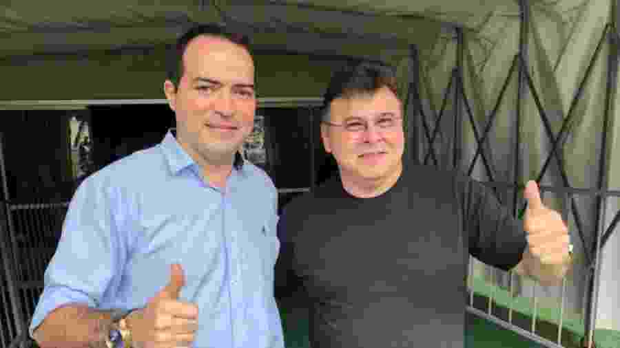 Presidentes de Fortaleza, Marcelo Paz, e Ceará, Robinson de Castro - CearaSC.com/Divulgação