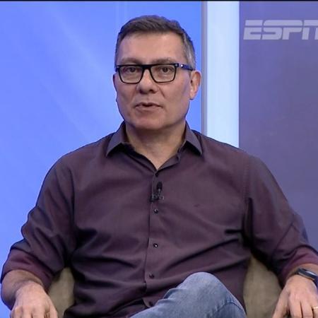 Paulo Calçade, comentarista dos canais ESPN - Reprodução/ESPN Brasil