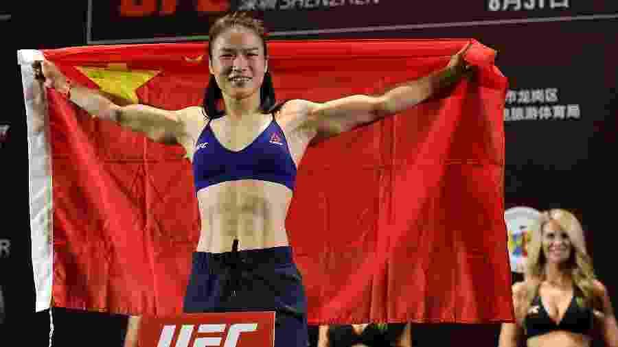 Zhang Weili, lutadora do UFC - Zhe Ji/Getty Images
