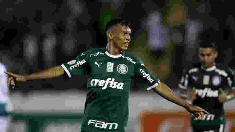 Gabriel Verón, atacante do Palmeiras - Cesar Greco/Palmeiras