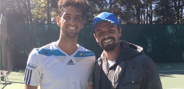Amigo especial de Paolla Oliveira já trabalhou com tenistas brasileiros