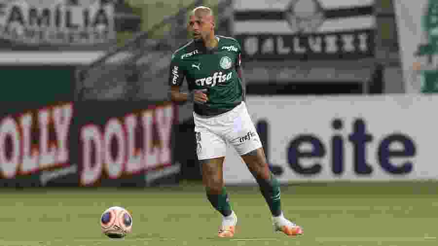 Felipe Melo em ação pelo Palmeiras contra o Santo André - Cesar Greco/Palmeiras