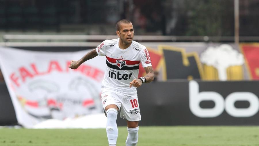 Daniel Alves, meio-campista do São Paulo - Rubens Chiri / saopaulofc.net