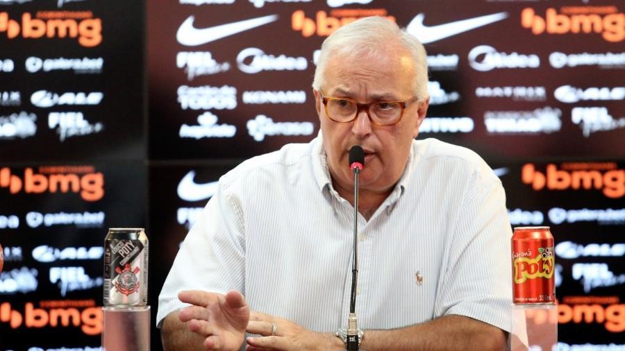 Roberto de Andrade, diretor de futebol do Corinthians - Rodrigo Coca
