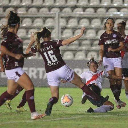 Ferroviária bateu o River Plate na Libertadores feminina: time está na final que será exibida pela Band - Reprodução