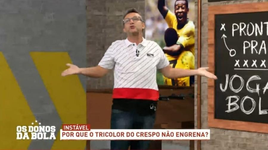 Neto critica diretoria do São Paulo e alfineta Benitez - Reprodução/Band