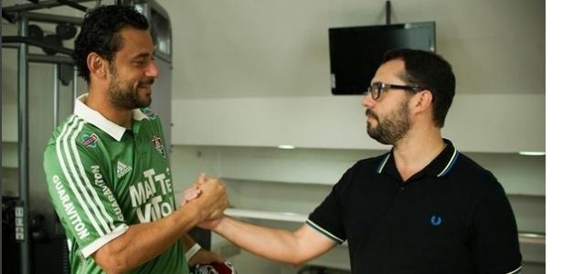 Bittencourt acredita que Fred e Levir resolverão situação pelo bem do Fluminense