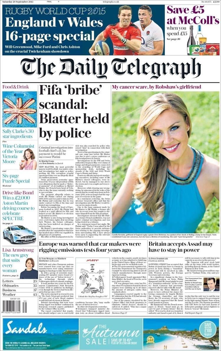Daily Telegraph (Inglaterra):