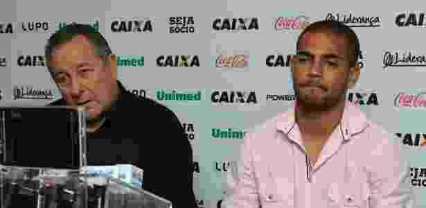 Novo reforço do Atlético-MG, Clayton se despede do Figueirense - Luiz Henrique/Divulgação/Figueirense