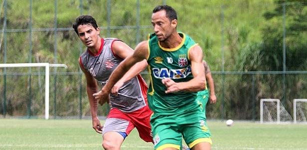 Vasco e Bangu realizaram jogo-treino no início do ano com vitória cruzmaltina por 2 a 1