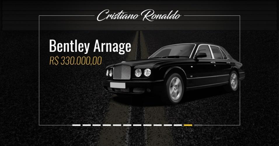 Conhe a os carros que neymar messi e cristiano ronaldo for O garage arnage