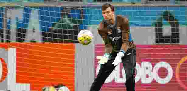Goleiro Léo Jardim está no Rio Ave, de Portugal e Grêmio pede seu retorno - Lucas Uebel/Gremio FBPA