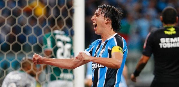 Pedro Geromel ficou fora do último treino do Grêmio para final contra o Galo - Lucas Uebel/Grêmio