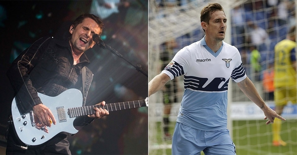 Matthew Bellamy, do Muse, e Klose