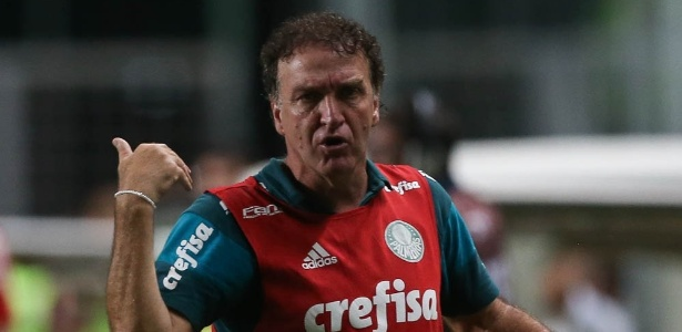 Cuca comandou o Palmeiras no título Brasileiro de 2016