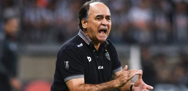 Marcelo Oliveira foi demitido após o jogo de ida da final da Copa do Brasil de 2016