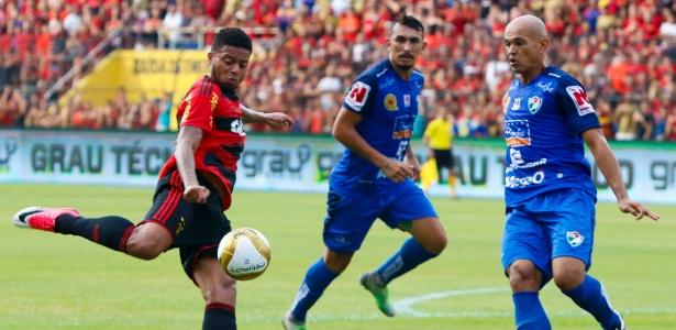 Sport e Salgueiro empataram por 1 a 1 primeira final do Pernambucano, há 36 dias