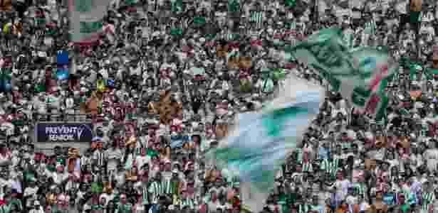 Torcida acompanha o treino aberto do Palmeiras no Allianz Parque Imagem   Ale Cabral AGIF eeb0aa4d18dc5