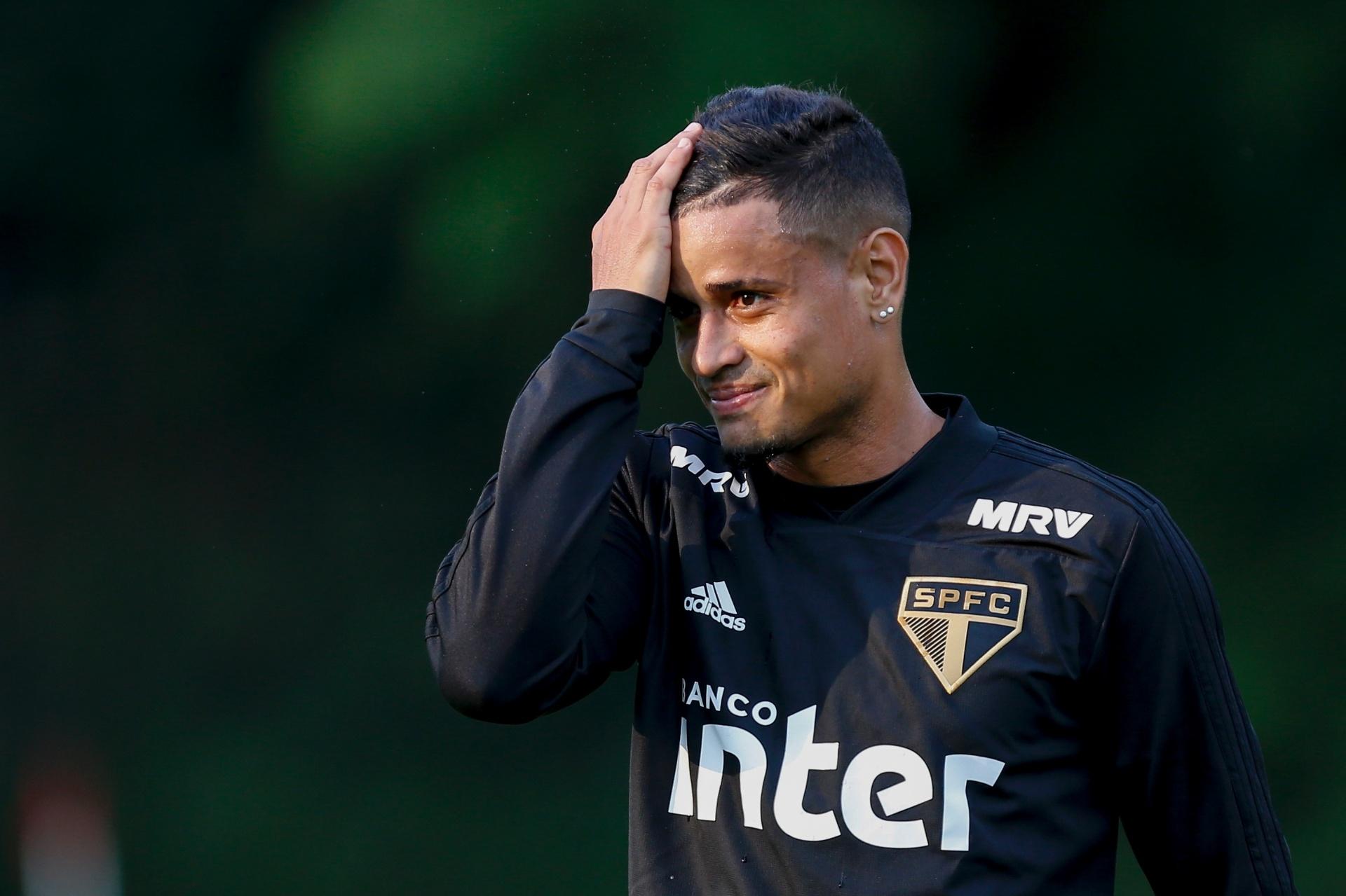Exame aponta estiramento e Everton inicia tratamento no São Paulo - Esporte  - BOL 27f82497617c8