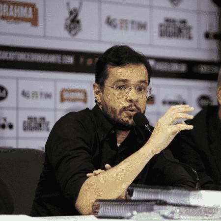 Bruno Maia, ex-vice-presidente de marketing do Vasco, durante entrevista  - Divulgação
