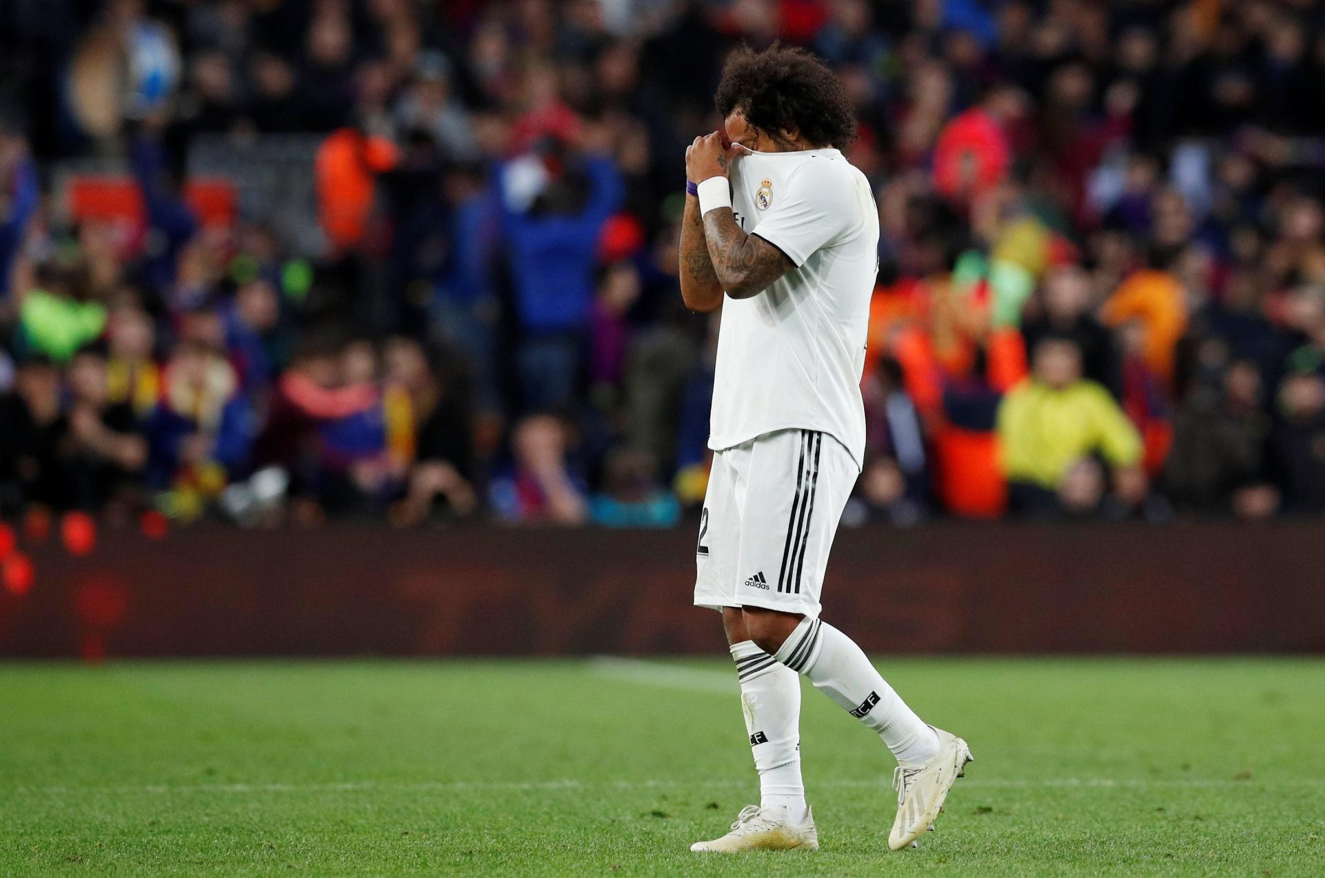 6ec3ac082ecbe Por que balança virou tema de discussão sobre Marcelo no Real Madrid -  06 02 2019 - UOL Esporte