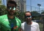 Amor de noivo pelo Vasco fez Edmundo virar padrinho de Nicole Bahls - Arquivo Pessoal/Marcelo Bimbi