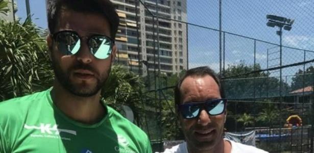 Edmundo e Marcelo Bimbi se conheceram por causa do ex-jogador Amaral