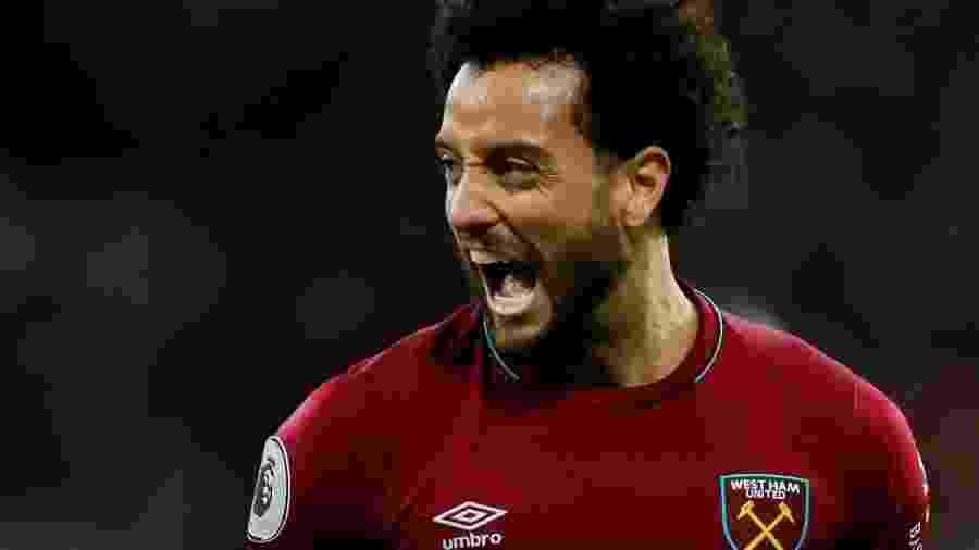 Felipe Anderson, ex-Santos, é jogador do West Ham (ING) - Andrew Couldridge/Getty Images