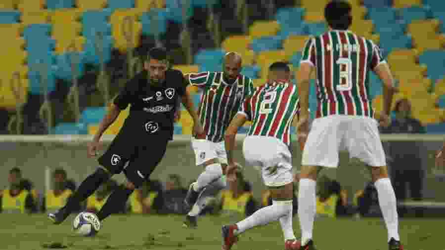 Fluminense x Botafogo abrem a quarta rodada do Brasileirão - Jotta de Mattos/Agif