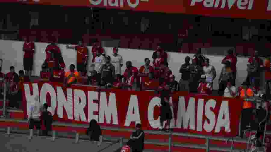 Torcida do Inter protestou após a vitória do último domingo, no Beira-Rio - Marinho Saldanha/UOL