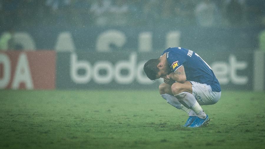 Thiago Neves, do Cruzeiro, não tem clima para seguir na Toca da Raposa II em 2020 - Bruno Haddad/Cruzeiro