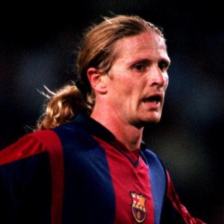 Além de atuar no Campeonato Inglês por Arsenal e Chelsea, Emmanuel Petit jogou no Barcelona - Tony Marshall/EMPICS via Getty Images