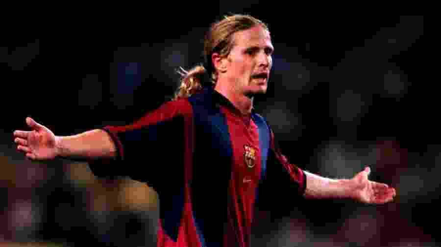 Para francês, divisões no elenco do Barcelona eram fruto de nacionalismo - para ele, algo perto do racismo - Tony Marshall/EMPICS via Getty Images