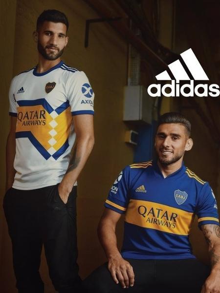 Sermón Mendicidad Huerta  Boca Juniors apresenta camisas da Adidas após 23 anos de Nike - 10/01/2020  - UOL Esporte