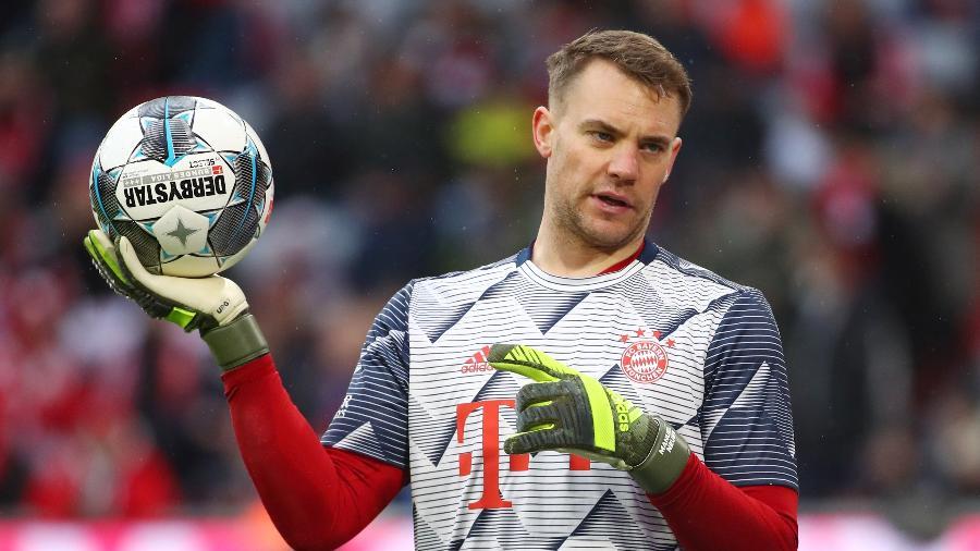Manuel Neuer, goleiro do Bayern de Munique - Michael Dalder/Reuters
