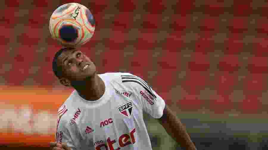 Bruno Alves, zagueiro do São Paulo - Rubens Chiri/saopaulofc.net