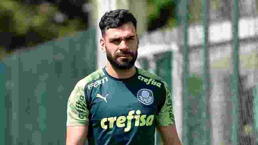 25.fev.2020 - Bruno Henrique em treino do Palmeiras - Bruno Ulivieri / Estadão Conteúdo