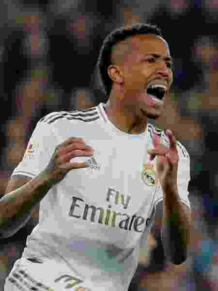 Eder Militão em ação pelo Real Madrid - Susana Vera/Reuters