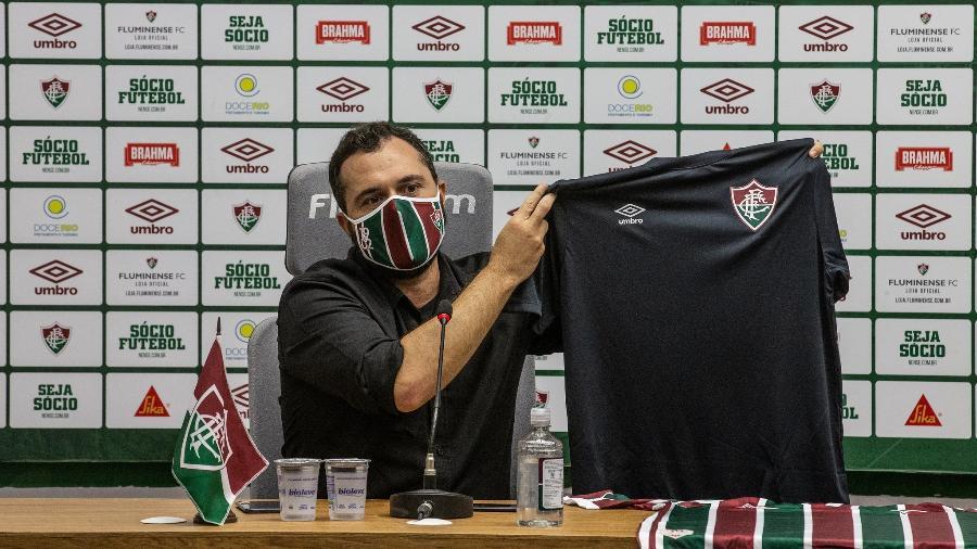 Fluminense entrará em campo com camisa preta, em luto por vítimas de coronavírus - Lucas Merçon/Fluminense FC