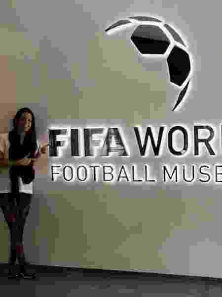 Michelle Rios, psicóloga do esporte, trabalhou por quase nove anos no Atlético-MG - Arquivo Pessoal