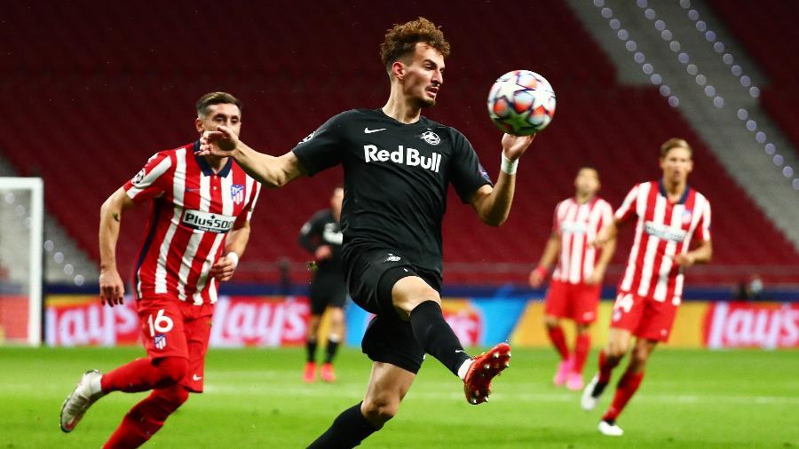 Atlético de Madri e Red Bull Salzburg se enfrentam pela Liga dos Campeões - Sergio Perez/Reuters